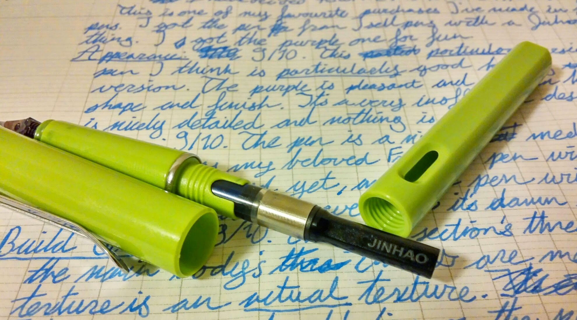 The Plastic Jinhao 599 From Someone Who Hates Safaris